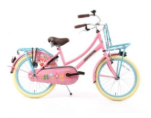 Transportfiets Popal Daily dutch 20 inch Bloom Roze tr20