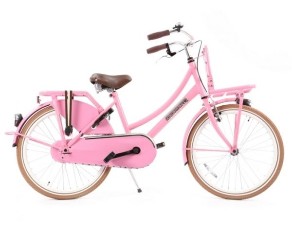 Transportfiets Popal Daily dutch 22 inch Roze tr22