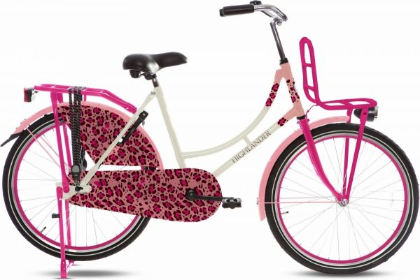 Highlander-Omafiets-24-inch-Pink-Panther