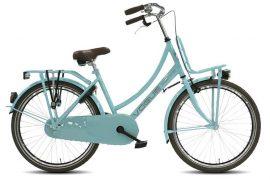 Transportfiets Vogue Transporter Meisjesfiets 24 inch mint blauw