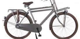 Transportfiets Popal Basic Plus 28 inch titanium