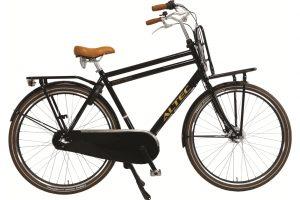 Altec Retro Heren Transportfiets 28 inch zwart