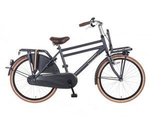 Transportfiets Popal Daily Dutch Basic Jongensfiets 24 inch Petrol Blauw