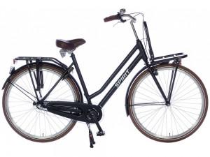 Spirit Urban N3 Damesfiets 28 inch: Mat Zwart