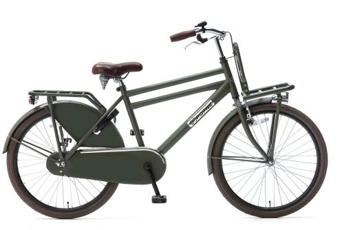 Popal Daily Dutch Basic Jongensfiets 24 inch army green