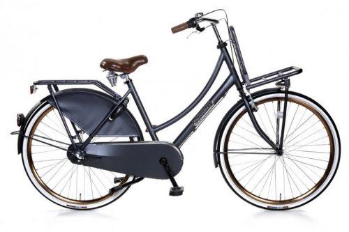 popal daily dutch royal dames transportfiets petrol blauw 28 inch