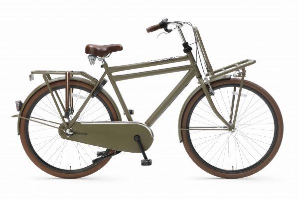 Popal Daily Dutch Basic+ 50 57cm 28inch Army Green Mat-groen