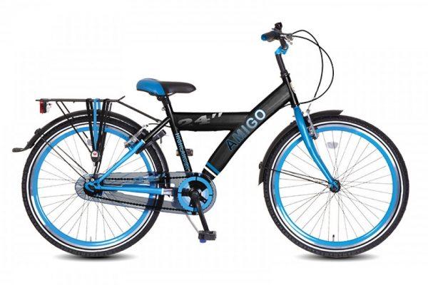 highlander amigo 20-24 inch zwart blauw