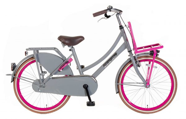 popal-daily-dutch-transportfiets-22-inch-grijs-roze