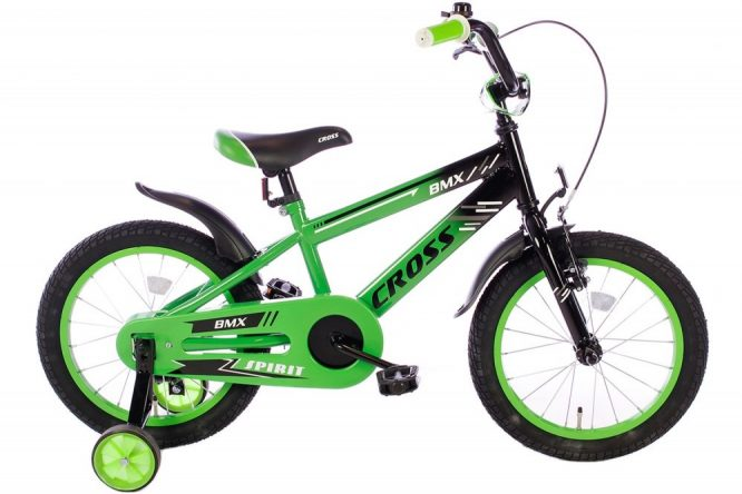 spirit-bmx-cross-groen-16 inch