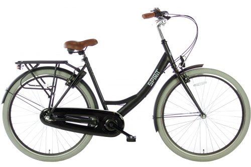 spirit-avance-28 inch Dames Stadsfiets mat-zwart-2877-1500x1000