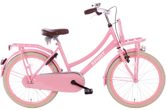 spirit-cargo-roze-22 inch meisjesfiets