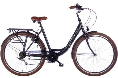 spirit-regular-Dames Stadsfiets 28inch lady-Zwart-2837-2017-500x450