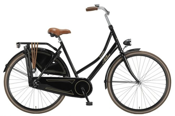 altec-london-28-inch-omafiets-glans-zwart-2016