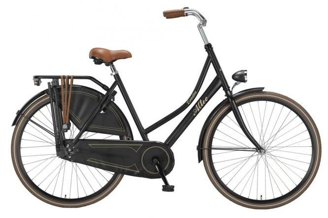 altec-london-28-inch-omafiets-mat-zwart-2016