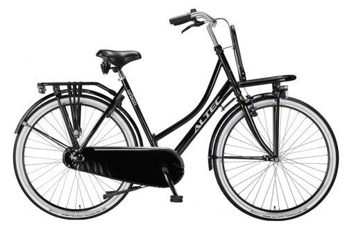 altec-urban Dames Transportfiets-28inch-50cm-zwart