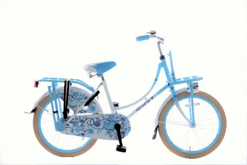 Static-Omafiets-20-inch-meisjes-transportfiets-wit-blauw-500x334