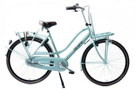 Static Glamour 28 inch dames transportfiets groen