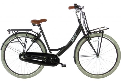 spirit-avance-plus 28 inch Dames transportfiets-mat-zwart-2877-1500x1000