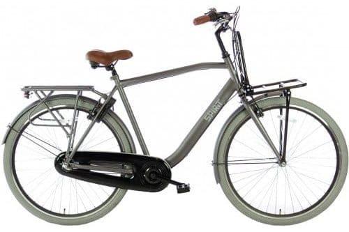 spirit-avance-plus 28 inch Heren stadsfiets-mat-grijs-2876-500x450