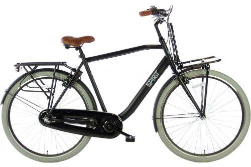 spirit-avance-plus 28 inch Heren stadsfiets-mat-zwart-2876-1500x1000
