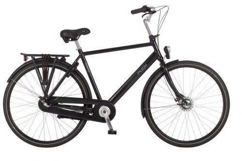 Puch Hands-Up Heren Coal Black Matt