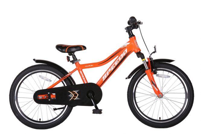 Speedo-20-inch-jongensfiets-Alu-frame-OranjeZwart