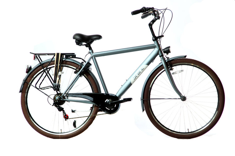 Static Classic Herenfiets 28 inch mat blauw
