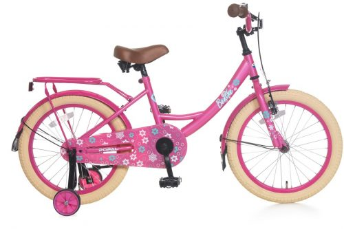 popal Benthe 18 inch meisjesfiets roze