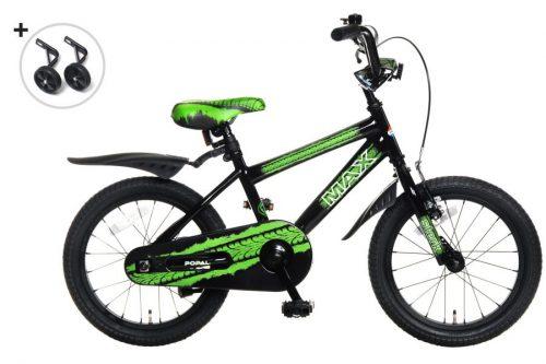 popal Max jongensfiets 16 inch groen