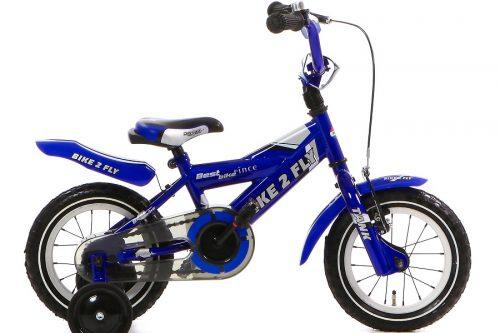 popal bike 2 fly jongensfiets 12 inch blauw
