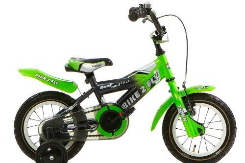 popal bike 2 fly jongensfiets 12 inch groen