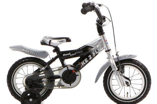 popal bike 2 fly jongensfiets 12 inch zwart