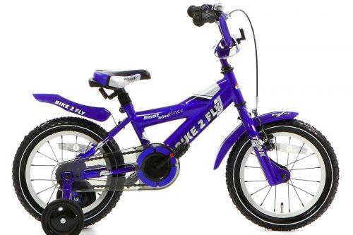 popal bike 2 fly jongensfiets 14 inch blauw