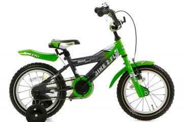 popal bike 2 fly jongensfiets 14 inch groen