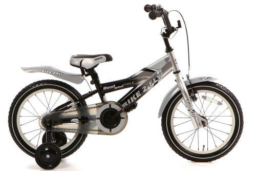 popal bike 2 fly jongensfiets 16 inch zwart
