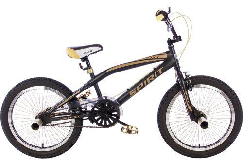 spirit-bmx-fiets lion-goud