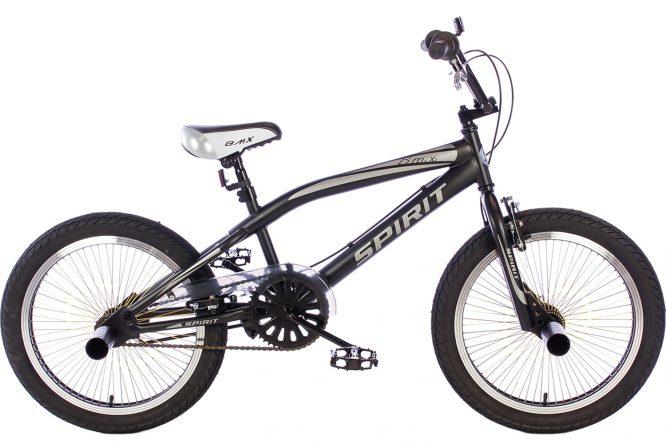 spirit-bmx-fiets lion-grijs
