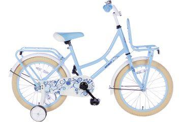 spirit-omafiets 18 inch blauw