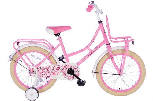 spirit-omafiets 18 inch roze