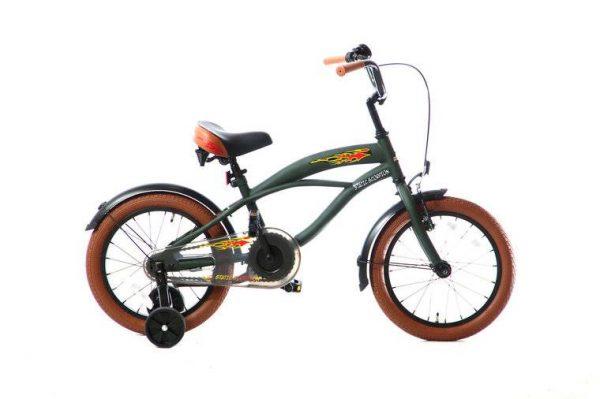 static-scorpion-jongensfiets-16-inch-groen
