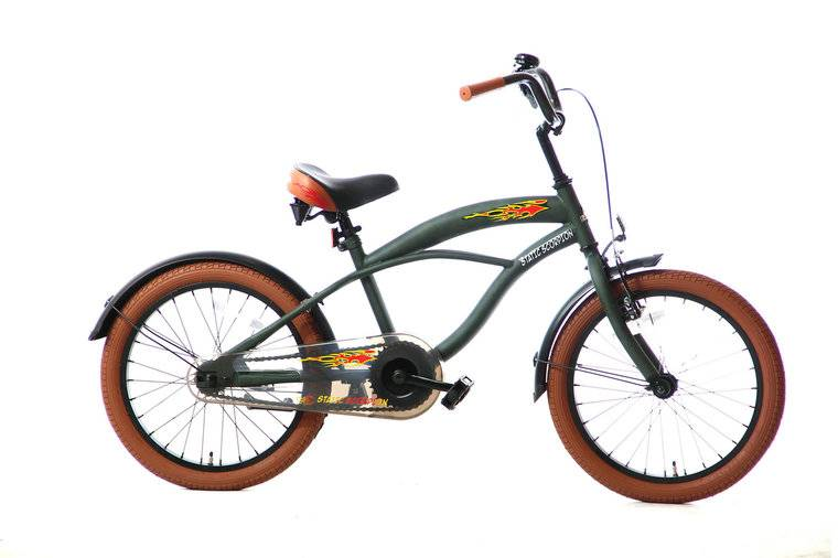 static-scorpion-jongensfiets-18-inch-groen