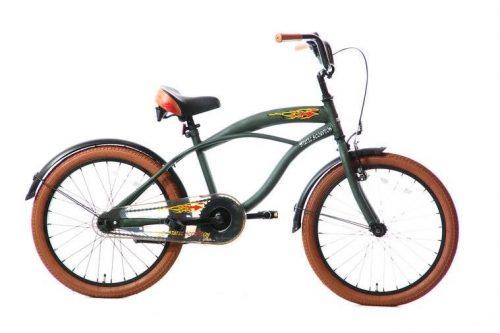 static-scorpion-jongensfiets-20-inch-groen