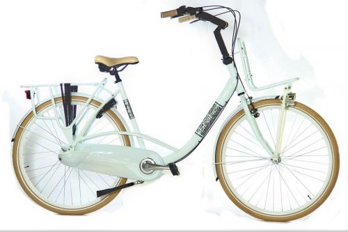 Static Mary moederfiets 28 inch wit
