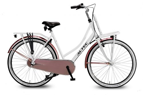 Altec-Dutch-28-inch-Transportfiets-Wit-Bronze-2018