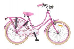 Popal Omafiets 22 inch roze