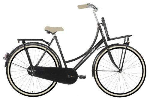 hollandia_transclassic dames transportfiets_zwart