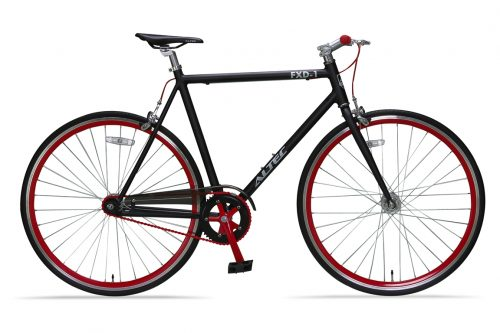 Altec-Fixed-Gear-28-inch-ZwartRood56cm