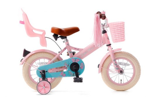 little miss 12 inch meisjesfiets roze