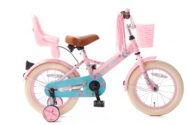 little miss 14 inch meisjesfiets roze